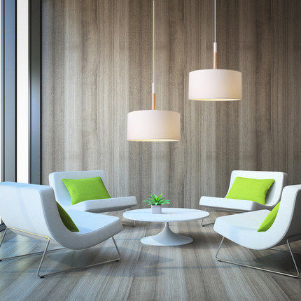 office pendant lighting. aliexpresscom buy blackwhite fabriciron led pendant lighting lamp scandinavian lights modern for officebarcafedinning hall free from office e
