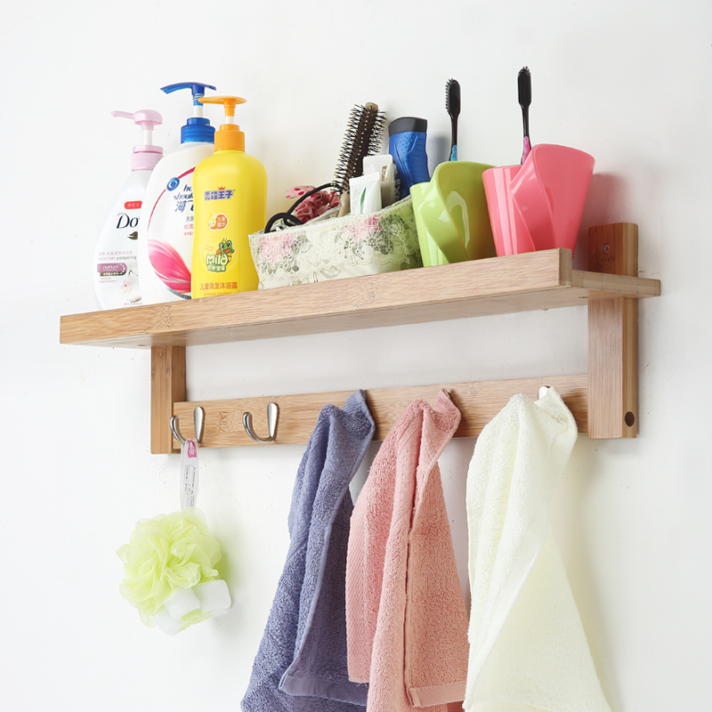 """""""Creative Hanging Hook"""" nekilnojamojo medinės sienos pakabinimo - Organizavimas ir saugojimas namuose - Nuotrauka 4"""