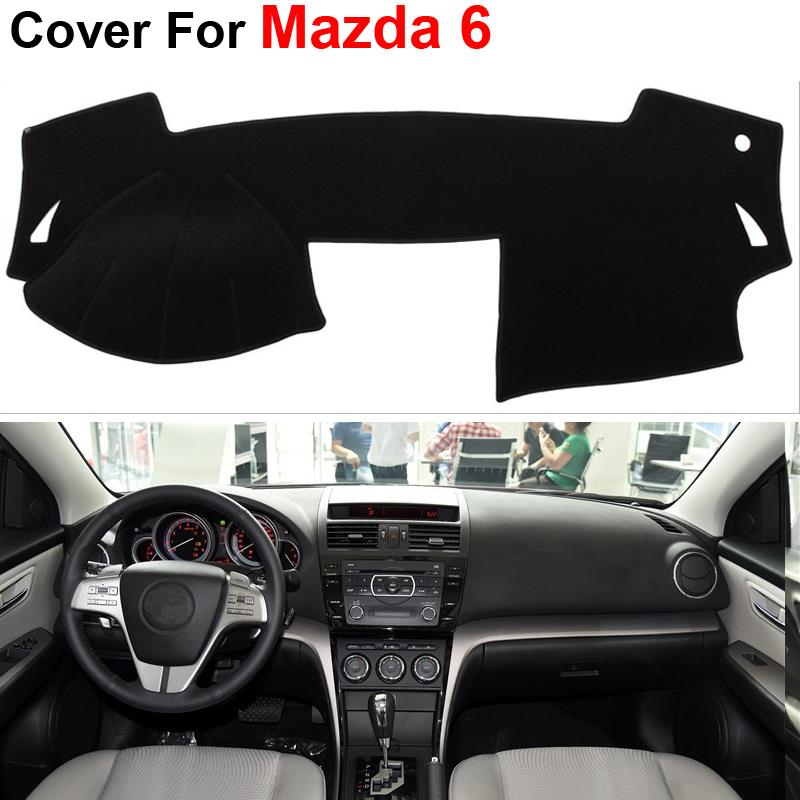 Fit For MAZDA 6 2009-2012 Dashboard Cover Dashmats Dash