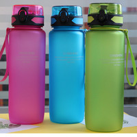 900ml PP Sports Water Bottel Bicycle Water Bottle With Lid Climbing Travel Camping Hiking Infuser Shaker