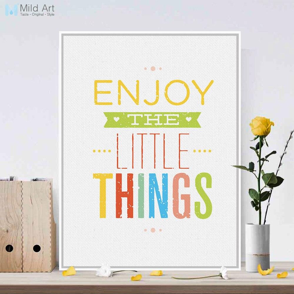 현대 동기 부여 타이포그래피 수명 인용 A4 캔버스 아트 인쇄 포스터 벽 그림 아이 아기 소녀 방 장식 그림 프레임