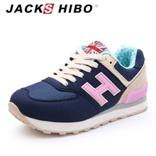 JACKSHIBO 2016 spring summer brand women casual shoes,light and breathable mesh fabric,designers woman chaussure femme shoes