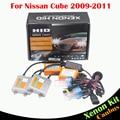 55 W Coche Bombilla Free Error de Canbus Lastre HID Xenon Kit AC luz De Carretera del faro 3000 K 4300 K 6000 K 8000 K Para Nissan Cube 2009-2011