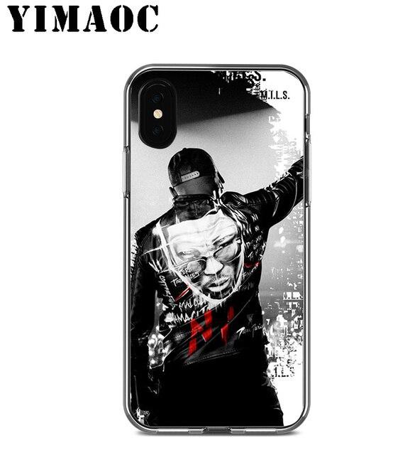YIMAOC Ninho rappeur Niska coque en silicone souple pour Apple ...