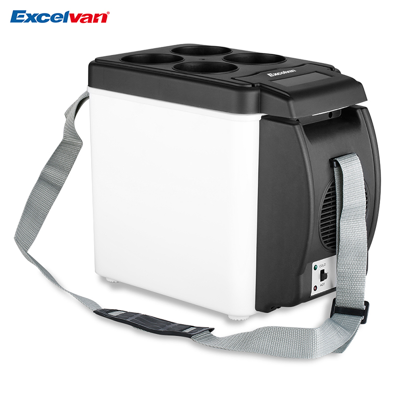 clear stock mini 6l car freezer cooler fridge 12v portable heat warming