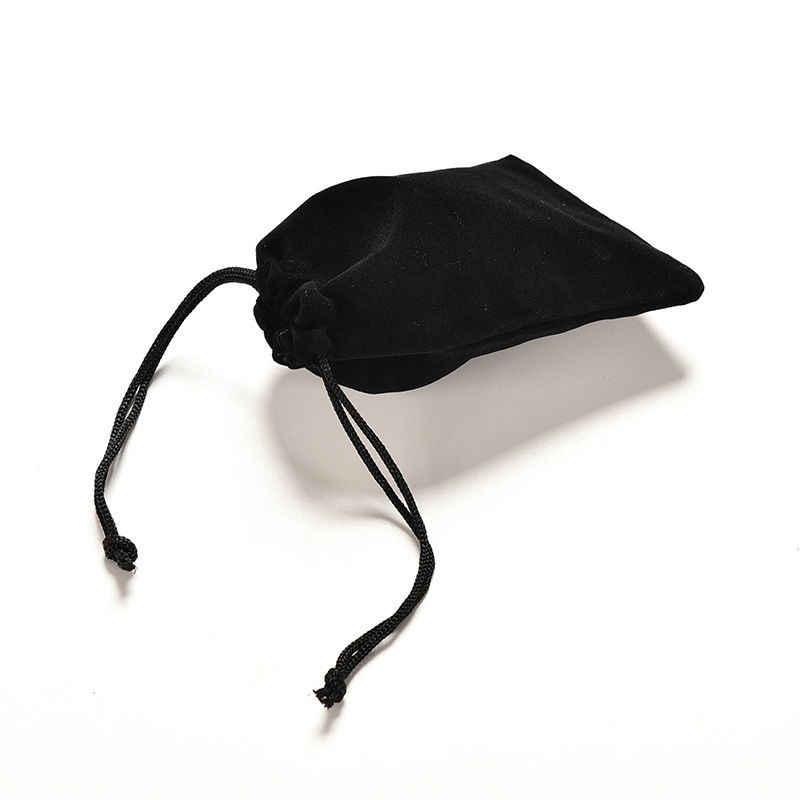 1 قطعة 12x9 سنتيمتر المخملية حقيبة المخملية الرباط أكياس الحقائب والمجوهرات التعبئة والتغليف حقيبة