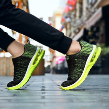 Men's running shoes cool light breathable sport shoes for men women sneakers for outdoor jogging walking big size 36-45