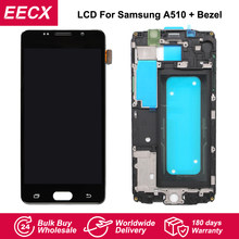 A510F LCD For Samsung Galaxy A510F LCD A5 Duos (2016) A510M Screen A510Y LCD Display Touch Screen Digitizer w/ Frame(China)