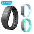 I6 HR Smartband Heart Rate Monitor Message Call Wristband Multi-Sports Management Smart Bracelet Fitness Tracker for Andriod IOS