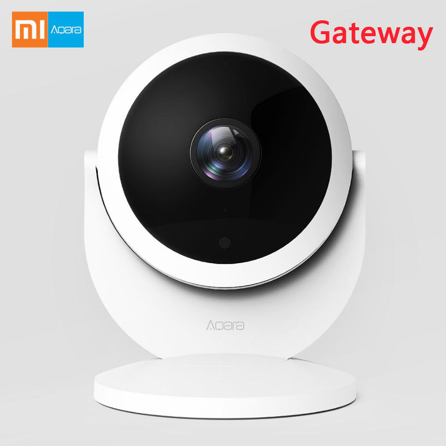 Xiaomi Aqara 1080P HD Smart  Wireless  WIFI  IP Night Vision 180-Degree Wide View  Camera with Gateway Version Linkage Alarm APP 880mhz core full gigabit gateway comfast cf ac100 ac gateway controller mt7621 wifi project manager with 4 1000mbps wan lan port