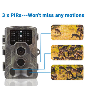 Image 2 - Goujxcy HC800A Trail Camera 1080P Night Vision Infrared LED Hunting Camera Waterproof Wildlife Camera Photo Traps scouts Camera