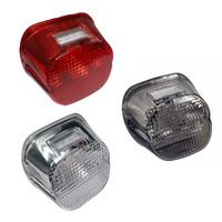 Clear Red Smoke Lens Tail light Brake Lightfor Harley Davidson Road Glide FLTR EFI FLTRI Road King Classic FLHRC FLHR Dyna