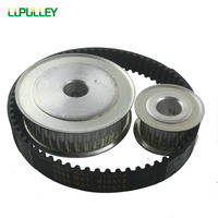 LUPULLEY Timing Belt Pulley 5M Reduction 1 3 60T 20T Shaft Center Distance 80mm Engraving Machine