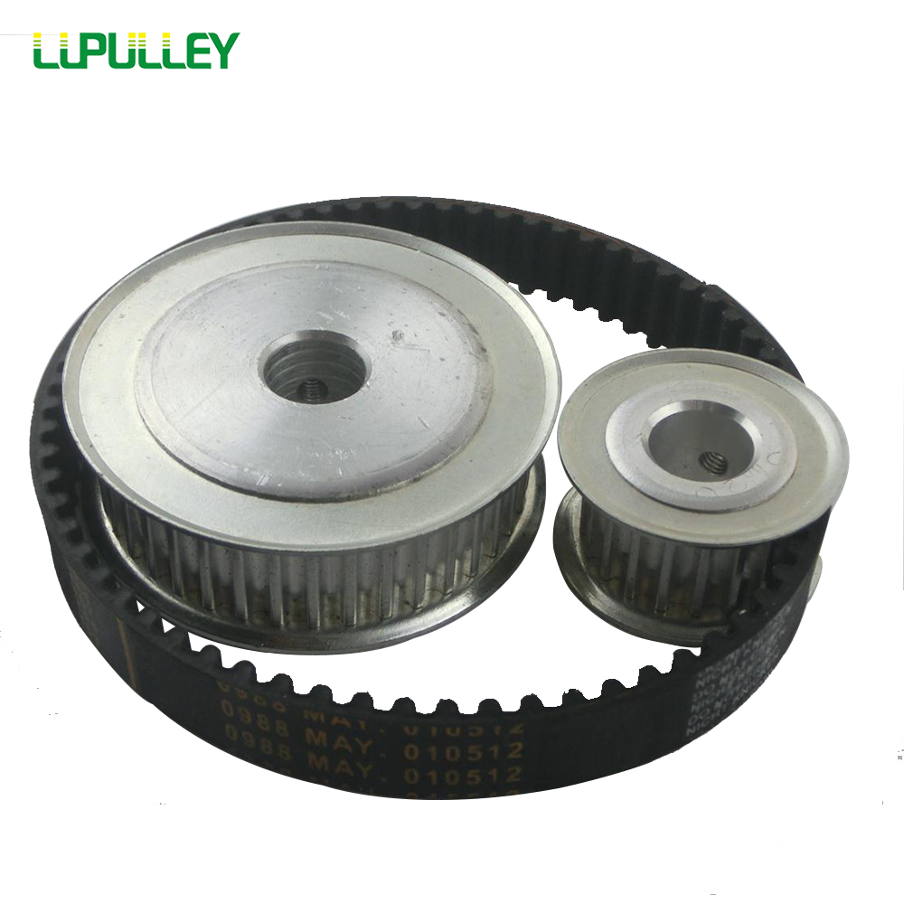LUPULLEY Timing HTD Belt Pulley 5M Reduction 1:3 60T 20T Engraving Machine Accessories With 5M-375 Belt Width 15mm все цены