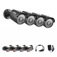 ANNKE 1080N Security Camera 4x 1 30Megapixels 1280 960 Weatherproof Bullet Cameras Kits For AHD DVR