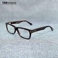 2016 moda importado folha do vintage armações de óculos de miopia quadro óculos de armação homens mulheres vidros ópticos oculos de grau TH5146