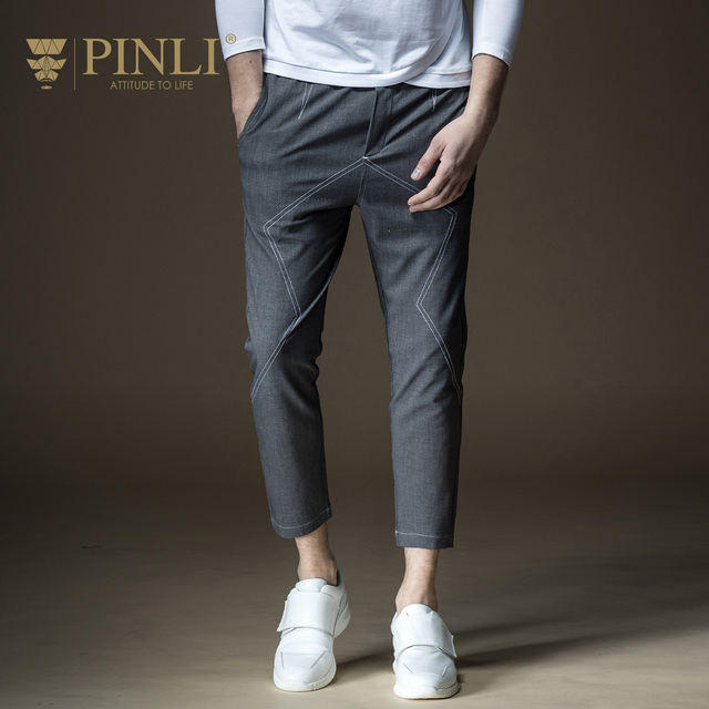 0b4fbfec4e04 Sweatpants Sale Pinli Product Made 2018 Spring New Men s Cultivate Morality  Pants Male Feet 9 Minutes Of Leisure B181117062