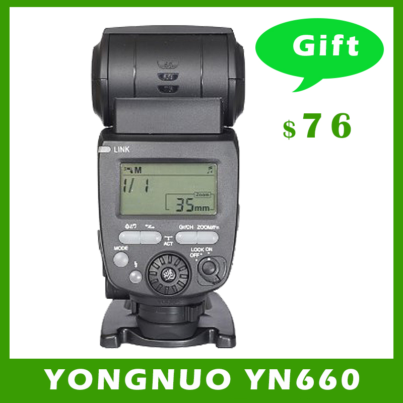 YONGNUO YN660 Wireless Flash Speedlite GN66 2.4G Wireless Radio Master Slave for Canon Nikon Pentax Olympus YONGNUO YN 660 spash sl 685c gn60 wireless master slave flash light ttl speedlite for nikon lcd screen cameras flash adjustable fill light