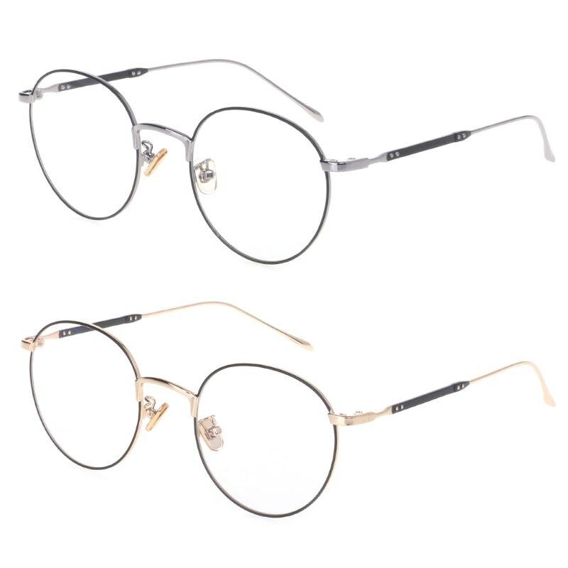 2019 Klassische Optische Gläser Mode Metall Rahmen Für Myopie Objektiv Transparent Brillen Klar Vintage Polygon Spektakel Dekoration Schrecklicher Wert