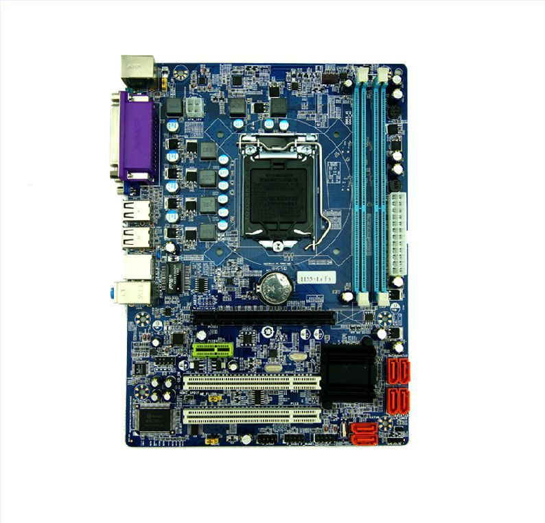 ФОТО For OEM ps-h55 motherboard 1156 needle ddr3 ,1333 new