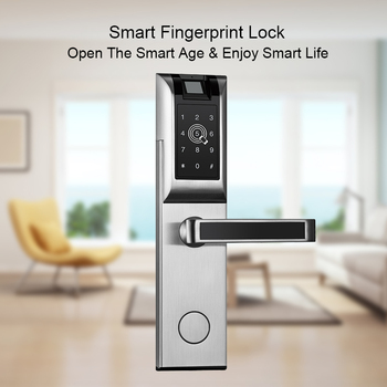 Eseye Smart Fingerprint Lock Door Keyless APP Bluetooth Password For Hotel Home Electronic Door Lock jcsmarts electronic bluetooth cadeado smart pin code digital door lock keyless password lock for hotel and apartment