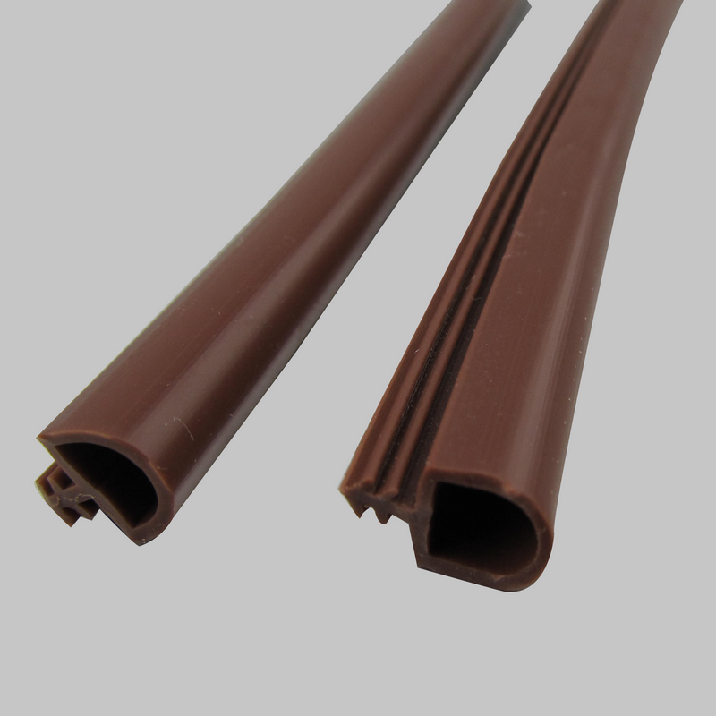 9mm x 6mm silicone rubber wooden door window sealing bumper strip weatherstripping low for Rubber weatherstripping for exterior doors