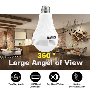 Image 5 - DAYTECH WiFi IP Camera Wireless HD 960P/1080P Camera Home Security Baby Room 360 degree Panoramic Angle Lamp Light Two way Audio