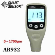 Digital Paint Coating Thickness Gauge W/  Probe, car detector Automotive Coating Refinishing car Paint tester Meter (0~1700um)
