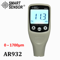 Digital Paint Coating Thickness Gauge W/ Probe, car detector Automotive Coating Refinishing car Paint tester Meter (0~1700um)