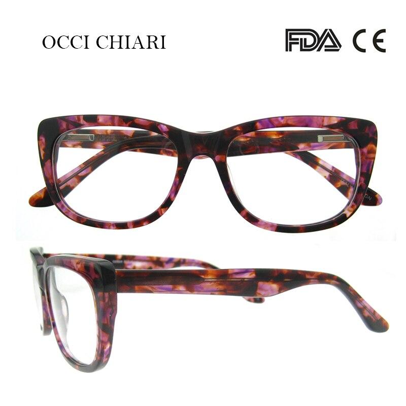 OCCI CHIARI Italia diseñador gafas de alta calidad gafas regalo ...