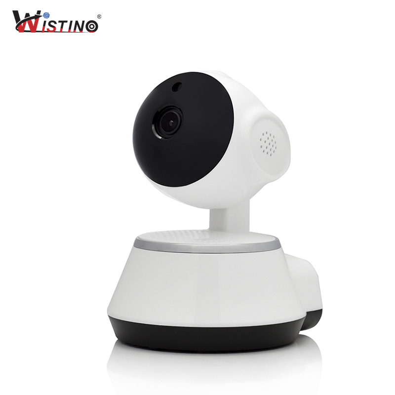 Wistino CCTV Wifi IP Camera Smart Home Security Camera 720P Mini Wireless Baby Monitor Video P2P Indoor TF Card Night Vision