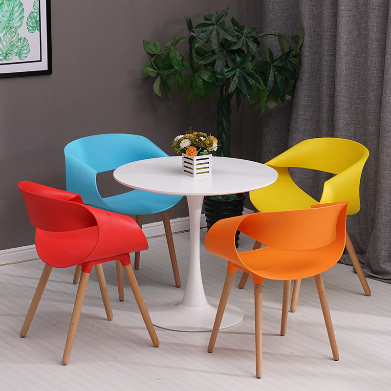 Table Chair Sets 80 Cm Round Dining Table Yellow Chairs Set Wooden Kitchen Modern Furniture Cafe Home Furniture Diy Breadcrumbs Ie
