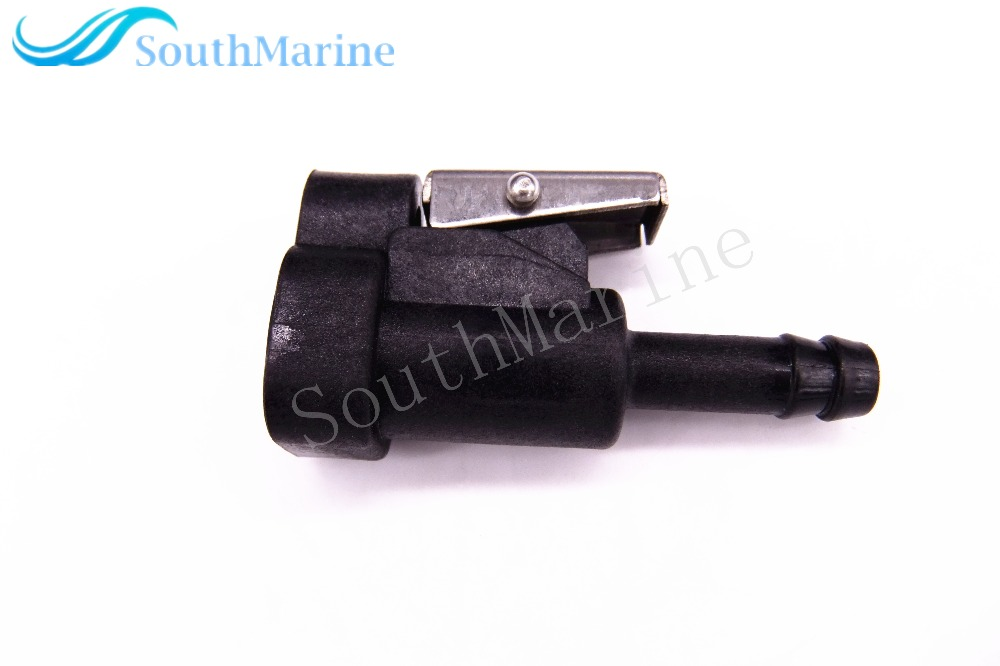 Female Fuel Line Connector For Johnson Evinrude BRP OMC 25HP - 150HP / Suzuki DF4 -DF50 DF60 DF70 Outboards , 3031 Hose Size 8mm