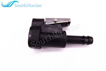 Female Fuel line Connector for Johnson Evinrude BRP OMC 25HP - 150HP / Suzuki DF4 -DF50 DF60 DF70 Outboards , 3031 hose size 8mm фото