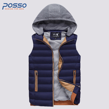 Sleeveless jacket mens waist coat sleeveless puffer vest mens winter parkas corduory hat  sleeveless bomber jacket