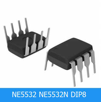 10PCS NE5532P DIP8 NE5532 DIP 5532P DIP-8 New And Original IC