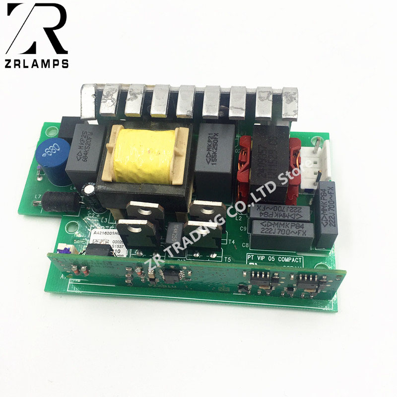 ZR PT VIP 05 COMPACT pour VIP210W projecteur Ballast A4216200DG lampe pilote assemblée-in Projecteur Ampoules from Electronique    1