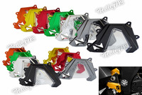 CNC Aluminum Front Sprocket Chain Guard Cover Left Side Engine For Kawasaki Z1000 2014 2015 2016
