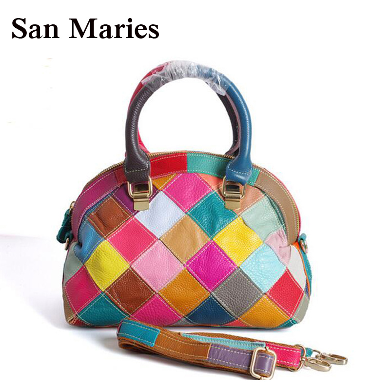 Stylish 2019 Genuine Leather Bags For Women Fashion Women Messenger Bag Crossbody Bags Top Quality Women