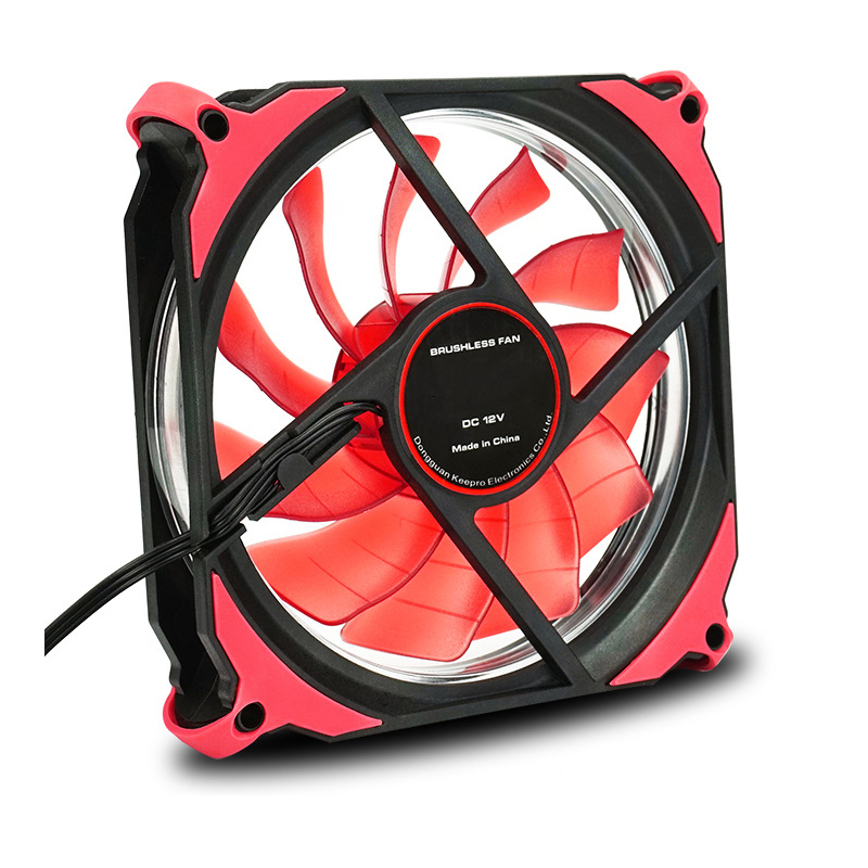 120x120x25mm LED Cooling Cooler Desktop Computer Cooling Fan Silent PC Case Fan