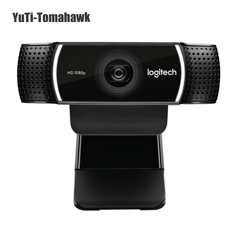 Оригинальный logitech C922 HD Pro поток веб камера с Micphone Full HD 1080 P видео автофокусом веб 14MP реального коробка