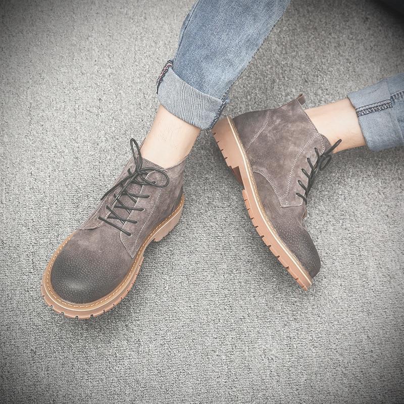 Pop Genuíno Ao Couro Vender Ar Livre Mens Yellow Sapatos Não Desgaste gary oposição slip Mxz8218116 Segurança De Botas Inverno xw0WqqIB4f