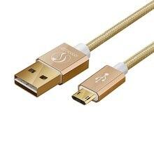مايكرو USB كابل شحن سريع شاحن الهاتف محول كابل البيانات لسامسونج شاومي هواوي سوني أندرويد تهمة مايكرو