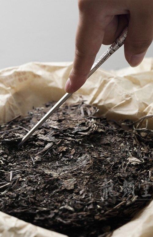Серебряные бокалы для вина игла для чая усилие чайный набор столовых приборов пуэр нож для чайной церемонии ручной суб нож для чайной церемонии с аксессуарами S
