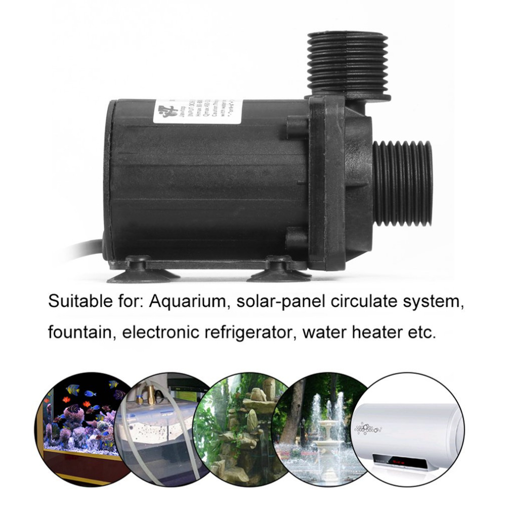 DC 24V 3.8M Magnetic Electric Centrifugal Water Pump Hotsell for Aquarium Solar-panel Circulate System Water Heater etc. 1pc free shipping new high quality 16cqf 8 magnetic electric centrifugal water pump