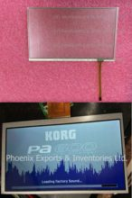 KOOP! KORG Touch screen digitizer voor Korg PA600 PA900 Touch Glas Touch Pad Touch Screen PA 600 PA-600(China)