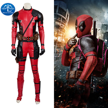 2016 New Mens Deadpool Cosplay Costume Updated Version For Men Hot Sale
