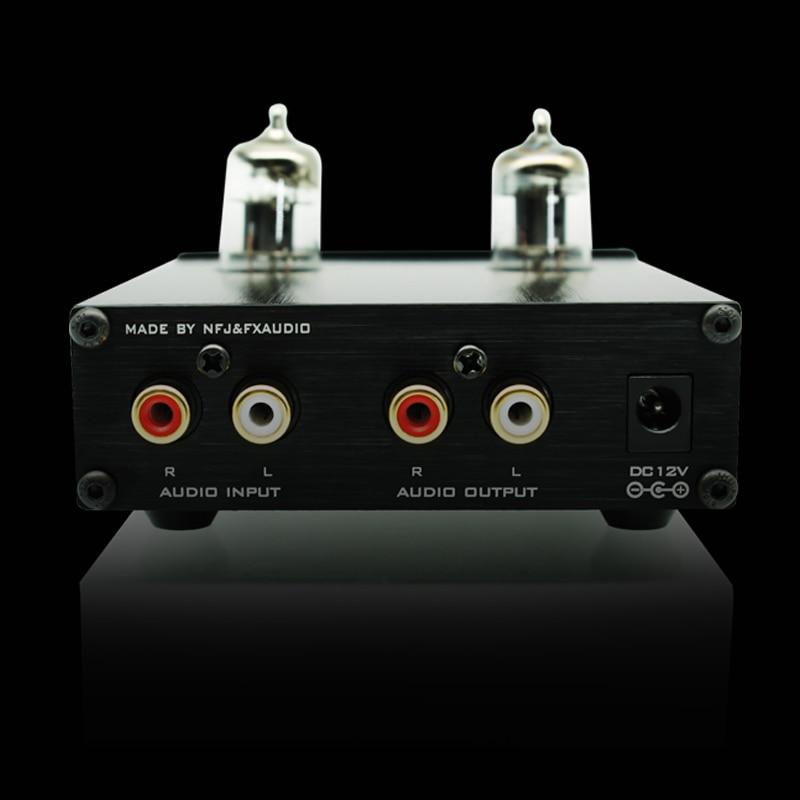 2017 FX-Audio Novi TUBE-03 Mini avdio vhodni prednapetostnik DAC zvok - Domači avdio in video - Fotografija 3