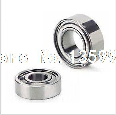 (10) 1/4*5/8*0.196 SR4ZZ Shielded Deep Groove Radial Stainless Steel Bearing(10) 1/4*5/8*0.196 SR4ZZ Shielded Deep Groove Radial Stainless Steel Bearing