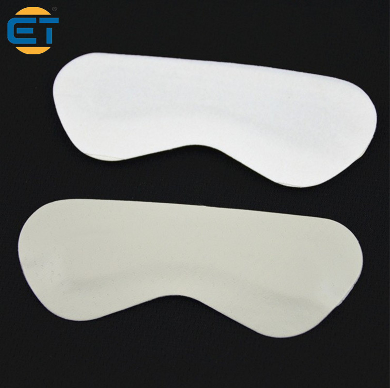 10 Pairs PU Leather Heel Stick High Heel Pad Shoes Anti Slip Stickers with Point Massage Anti-pain 5 pairs slica gel silicone shoe pad insoles women s high heel cushion protect comfy feet palm care pads accessories